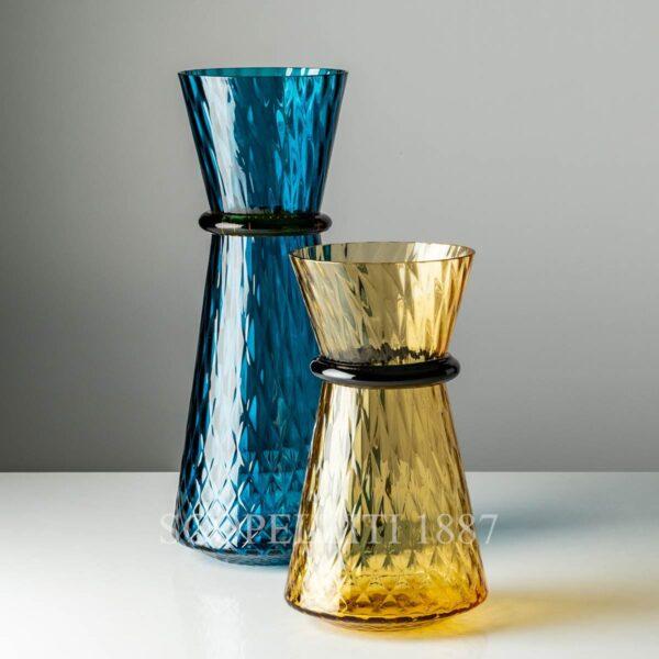 venini vase tiara blu new color