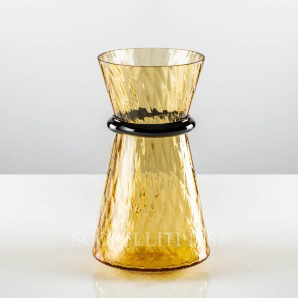 venini vase tiara amber new color