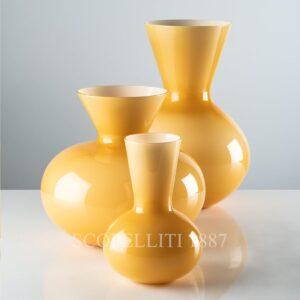 venini vase idria new color amber