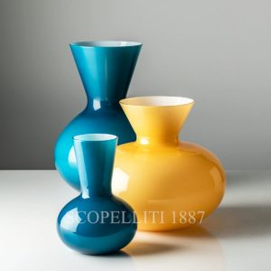 venini vase idria new color amber