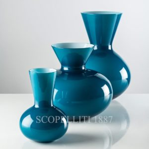 venini vase idria blu new color