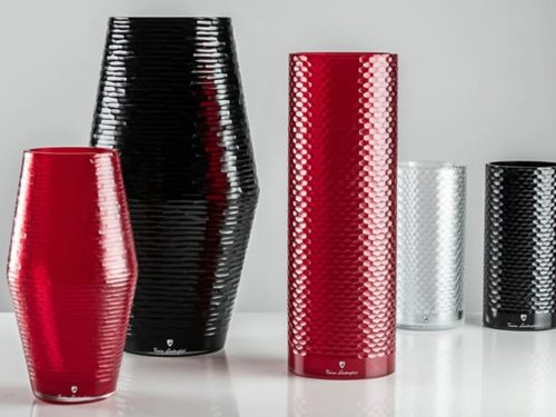 Tonino Lamborghini Vases by Venini