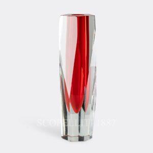 lamborgini pentagono vase red