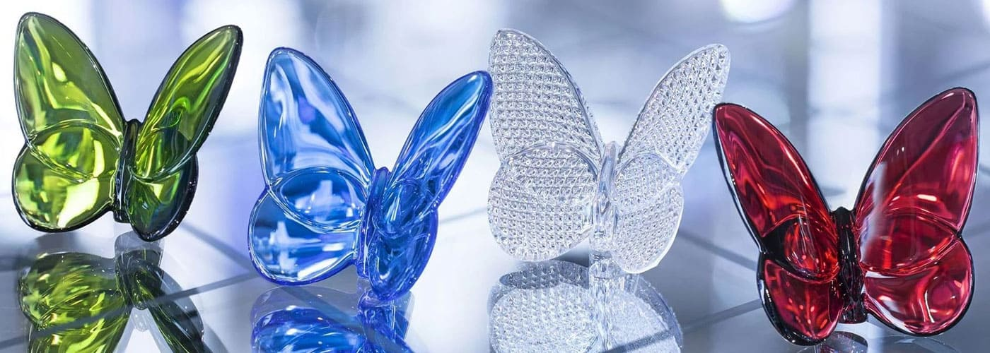 baccarat butterfly figurine