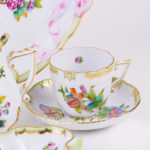 herend coffee cup queen victoria