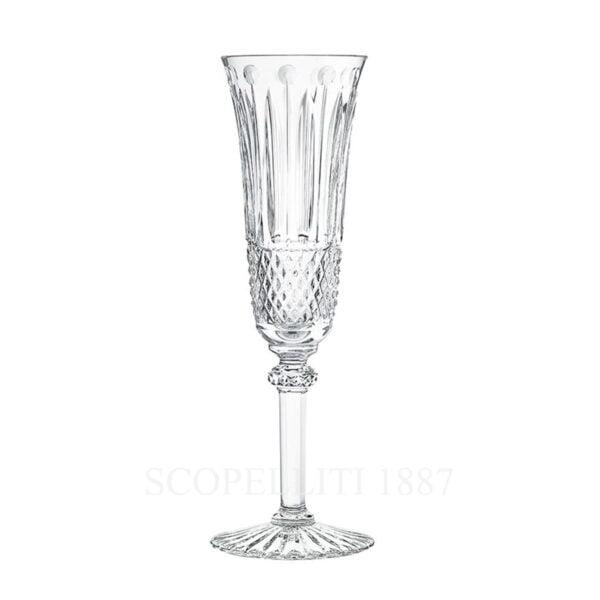 saint louis crystal tommy flute glass