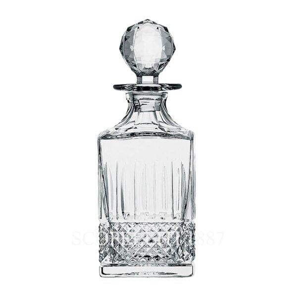 saint louis tommy square decanter whisky bottle