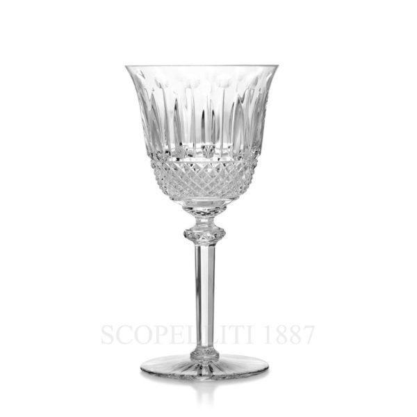 saint louis crystal tommy glass wine