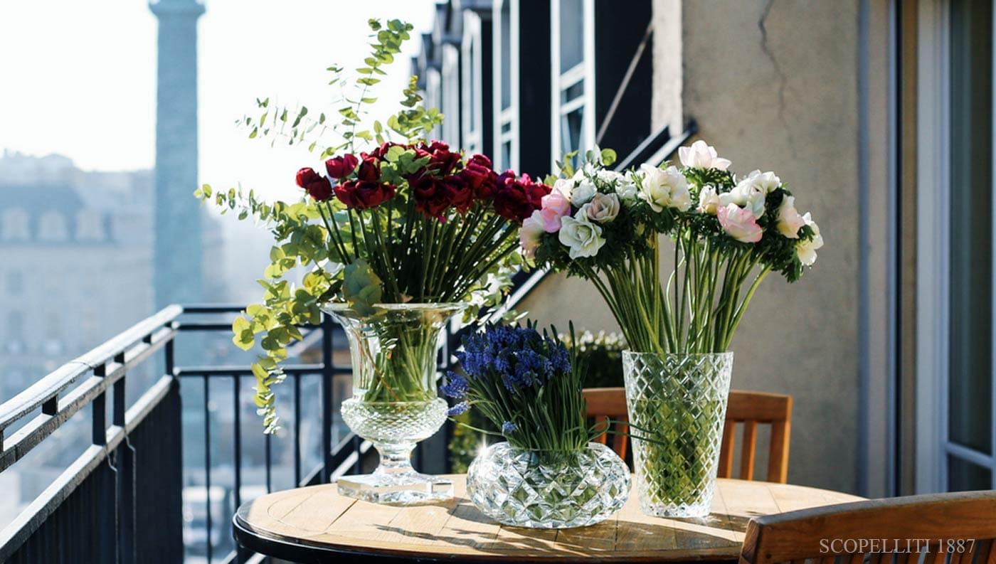 saint louis crystal vases