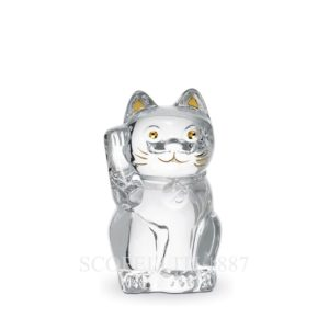 maneki cat crystal baccarat