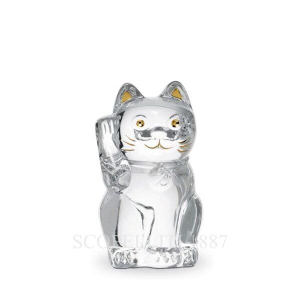 maneki cat crystal baccarat