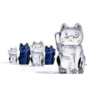 baccarat figurines cat