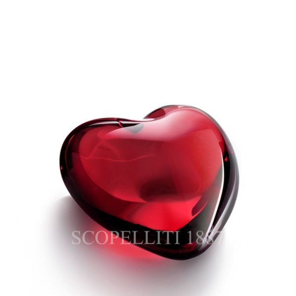 crystal red heart baccarat