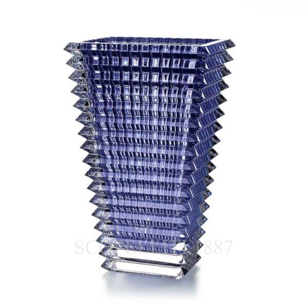 baccarat crystal vase eye blue