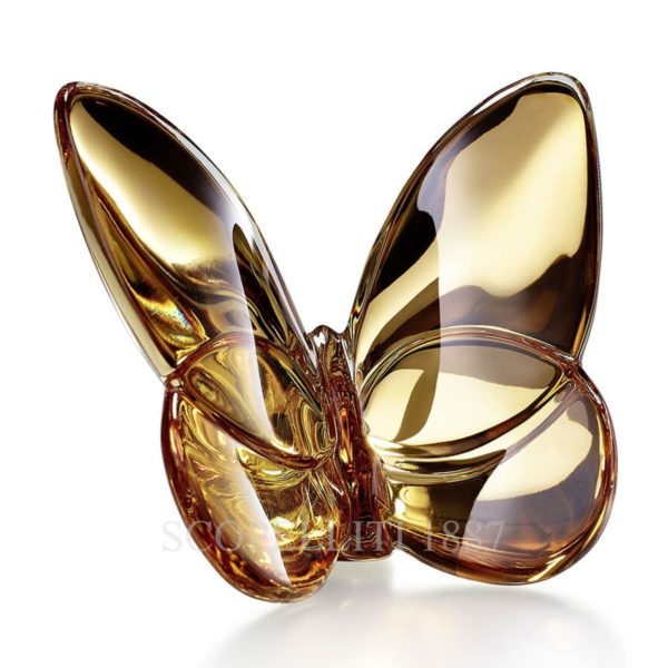 baccarat lucky butterfly gold