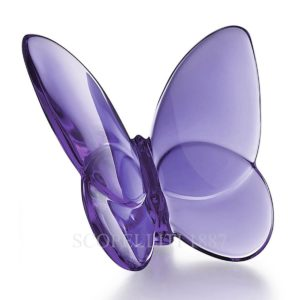 baccarat lucky butterfly violet