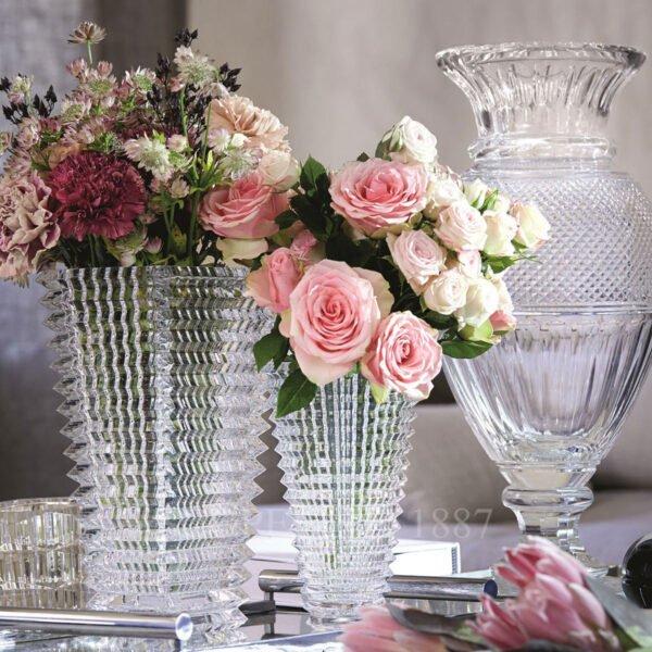 diamant baluster baccarat vase 1