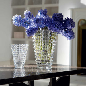 eye baccarat vase clear