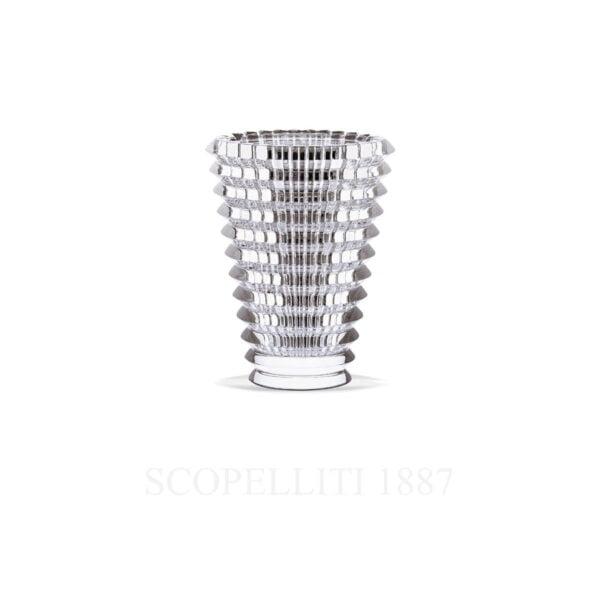 eye s transparent baccarat vase