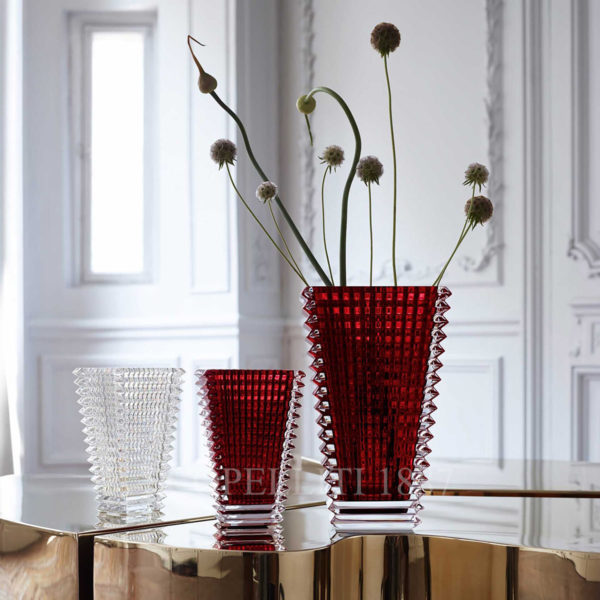 vases red baccarat