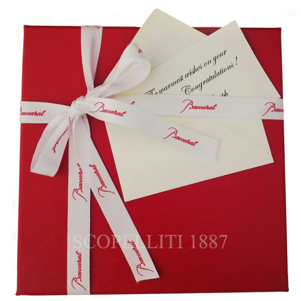 baccarat gift greeting card