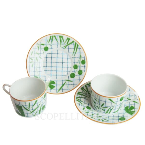 hermes a walk in the garden tea set