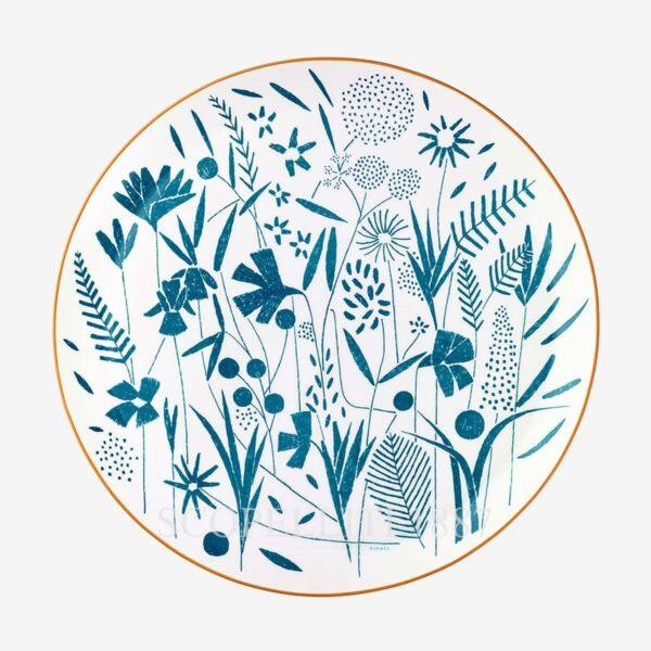 hermes a walk in the garden tart platter