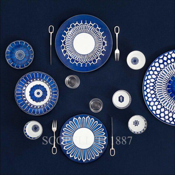 hermes bleus dailleurs tableware