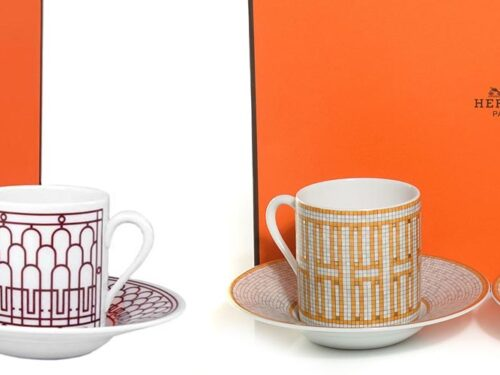 Hermes Coffee Cup Gift Set