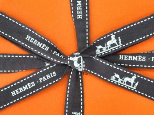 Hermes Gift in gift wrapped box