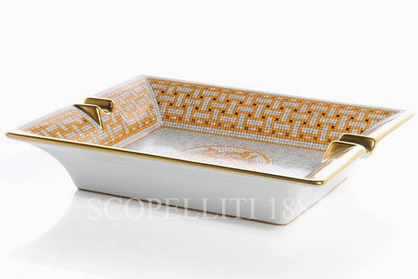 hermes gift with box ashtrey