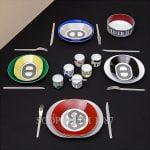 hermes rallye porcelain dinnerware