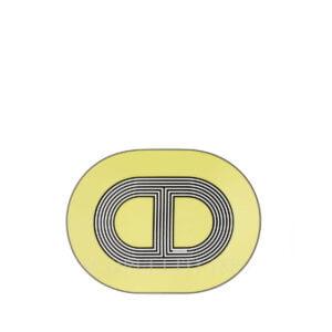 hermes rallye 24 small oval plate