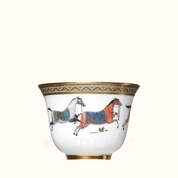 hermes cheval dorient porcelain tumbler