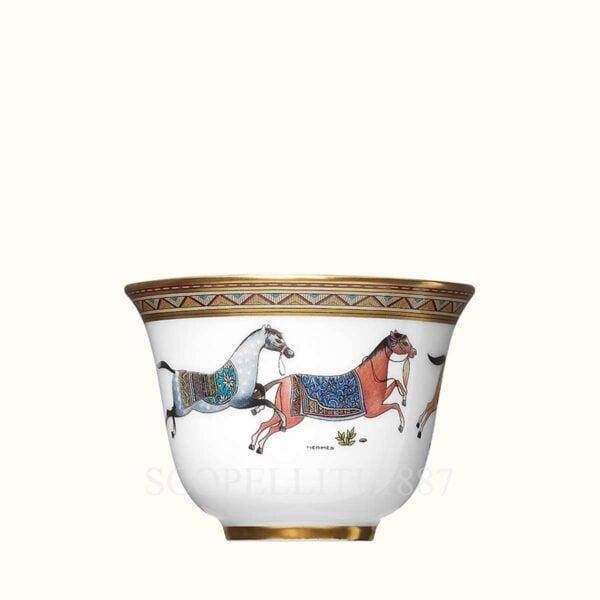 hermes cheval dorient porcelain small cup