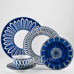 hermes 5 piece place setting bleus dailleurs