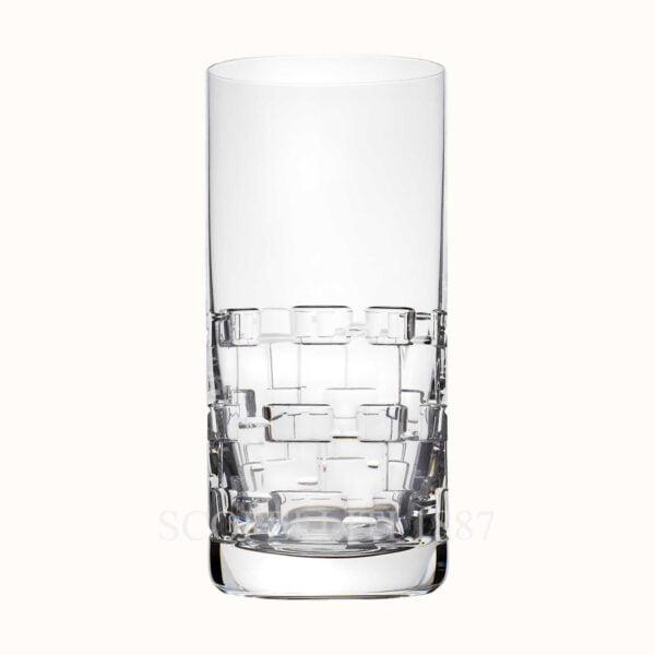 hermes crystal highball adage