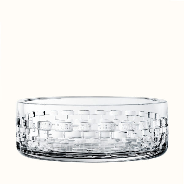 hermes crystal large bowl adage