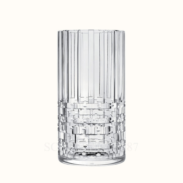 hermes crystal large high vase adage
