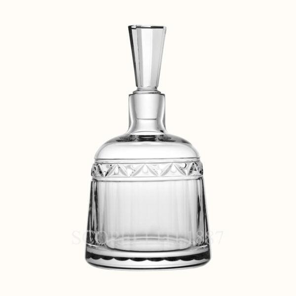 hermes crystal small decanter for vodka iskender