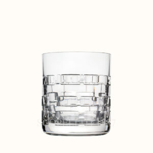 hermes crystal small tumbler adage