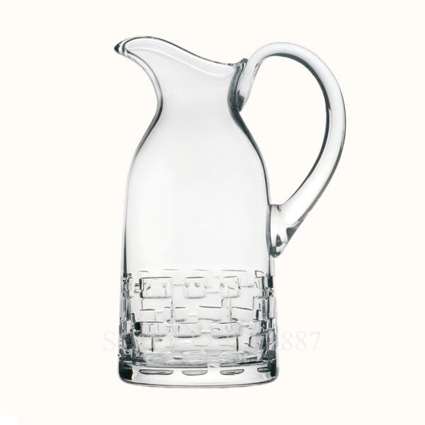 hermes crystal water jug adage