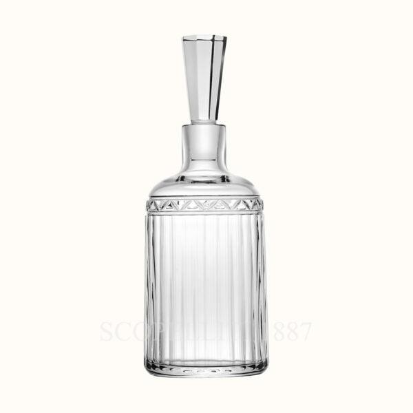 hermes crystal whisky decanter iskender