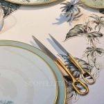 hermes attelage cutlery gold knife