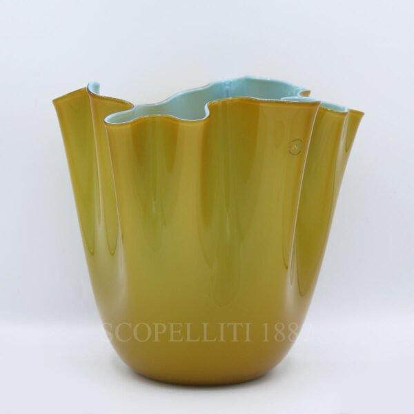 venini unique handkerchief vase limited edition