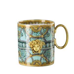 versace green mug