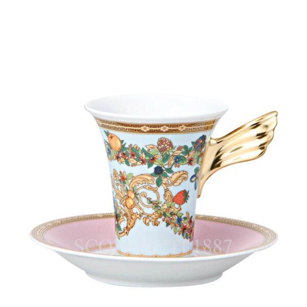 versace le jardin de versace coffee cup and saucer