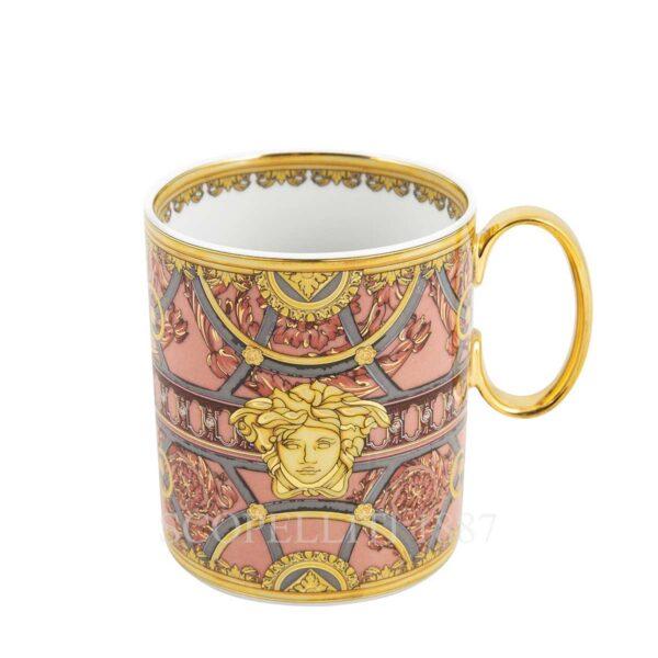 versace rose mug