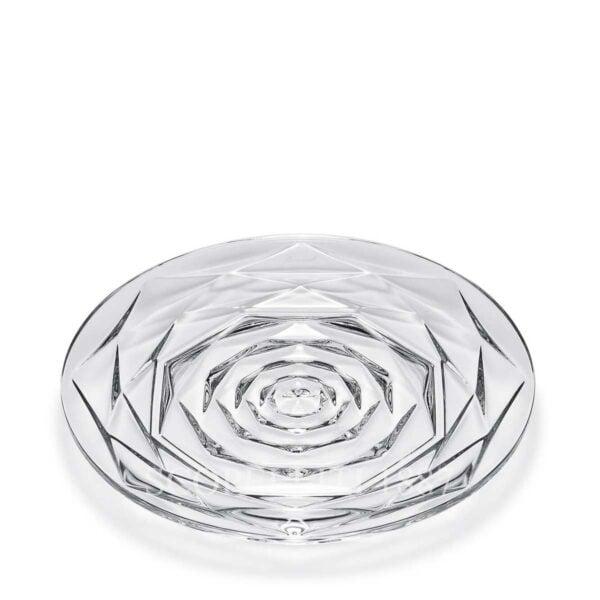 baccarat crystal swing plate brunch
