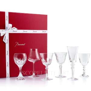 baccarat wine therapy set gift box